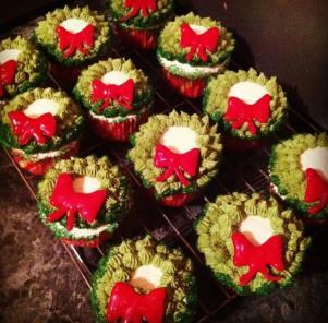 cupcake wreaths