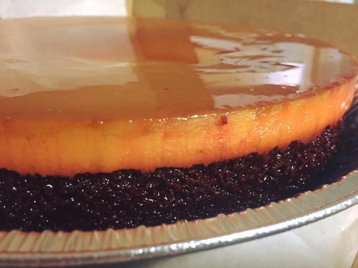 Flan Choco-cake