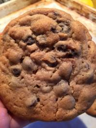 emergency roll chocolate chip cookie